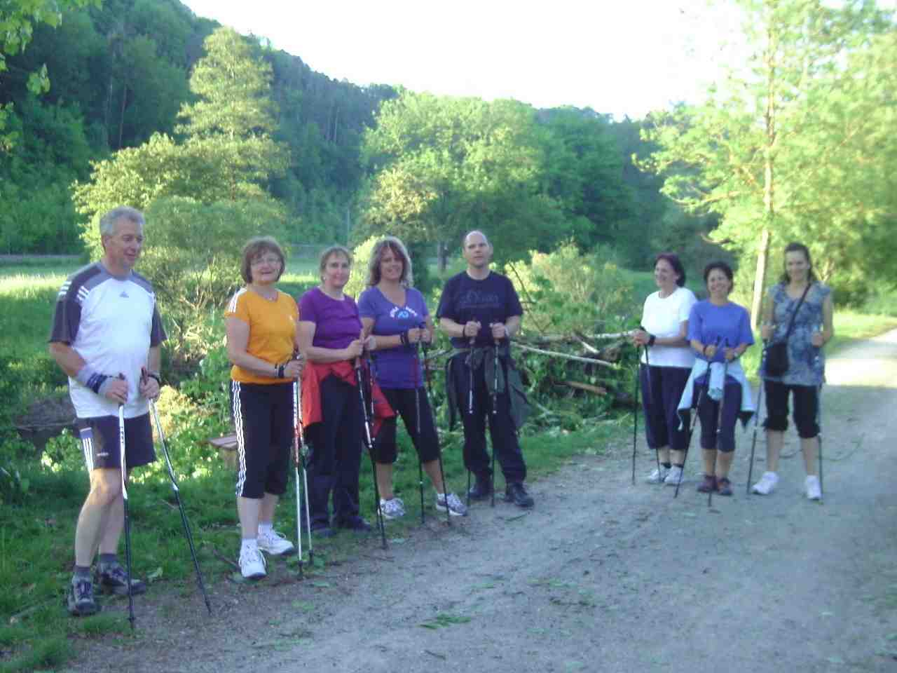 Nordic Walking Truppe on Tour !