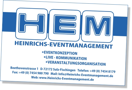 Heinrichs Eventmanagement
